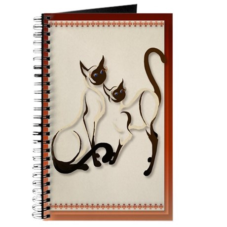 Two Siamese Cats Journal