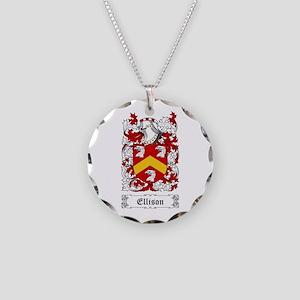 Ellison Necklace Circle Charm