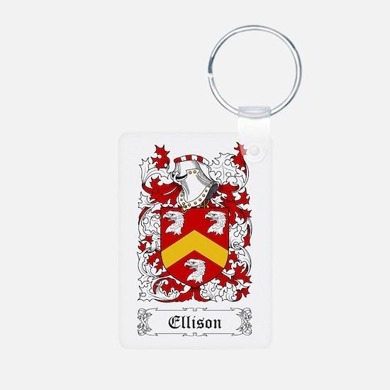 Ellison Aluminum Photo Keychain