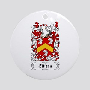 Ellison Ornament (Round)
