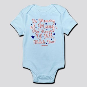 Never Forget Memorial Day Shirt Body Suit