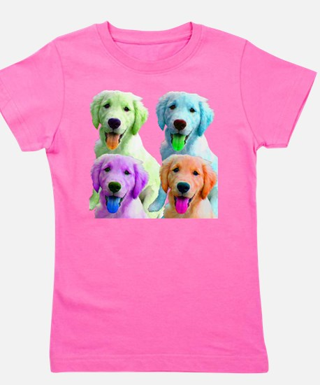 Golden Retriever Warhol T-Shirt