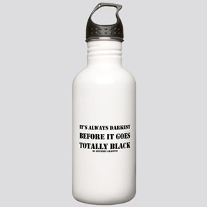It's Always Darkest Stainless Water Bottle 1.0L