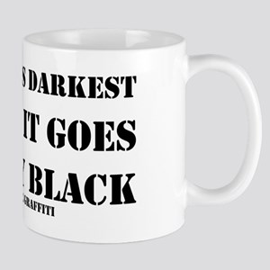 It's Always Darkest Mug
