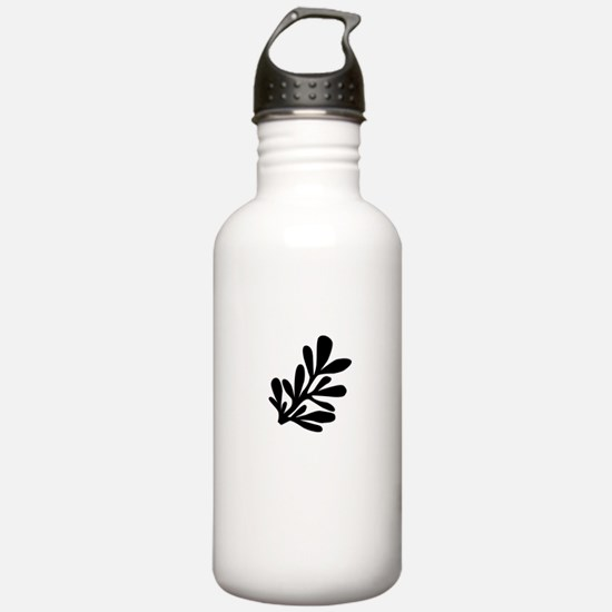 Lietuva Lithuanian Rue Water Bottle