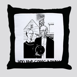 Very Funny Bowling Throw Pillow