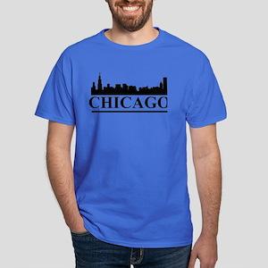 Chicago Skyline Dark T-Shirt