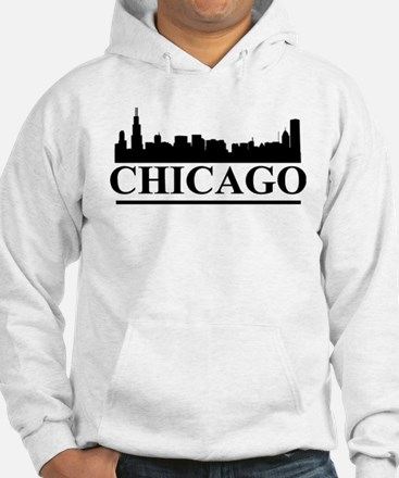 Chicago Skyline Jumper Hoody
