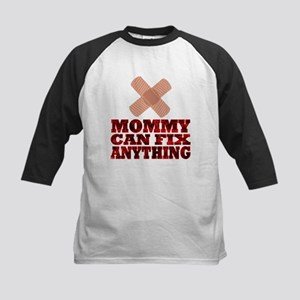 Mommy Can Fix Anything Kids Baseball Jersey