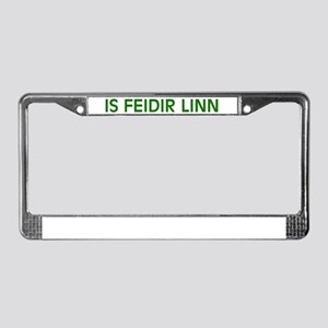 Is Feidir Linn License Plate Frame