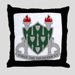 The Armor School Throw Pillow
