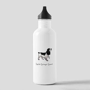 English Springer Spaniel Illu Stainless Water Bott