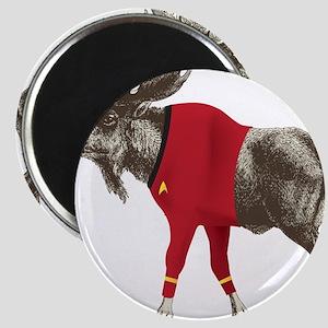 Moose Red Shirt Magnet