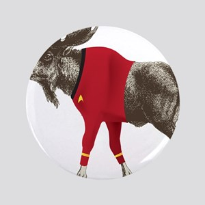 """Moose Red Shirt 3.5"""" Button"""