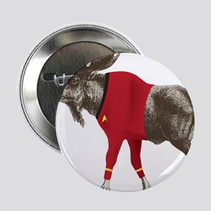 "Moose Red Shirt 2.25"" Button"