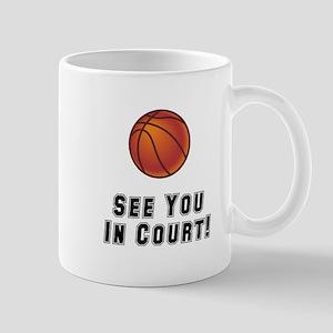 Basketball Court Mug