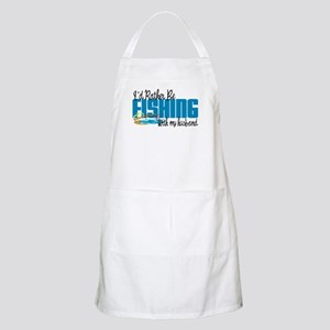Rather Be Fishing With My Husband Apron