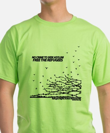 Barbed-wire graphic : T-Shirt
