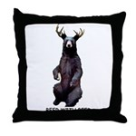 Beer With Beer Throw Pillow