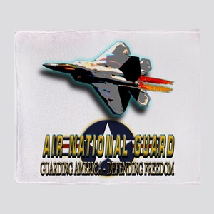USAF Air National Guard Throw Blanket