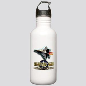 USAF Air National Guard Stainless Water Bottle 1.0
