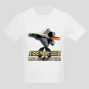 USAF Air National Guard Kids Light T-Shirt