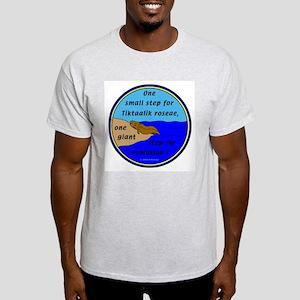 Tiktaalik Roseae Evolution Ash Grey T-Shirt