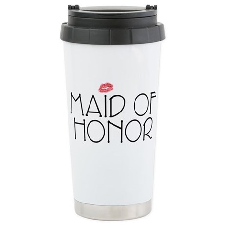 Maid of Honor Stainless Steel Travel Mug