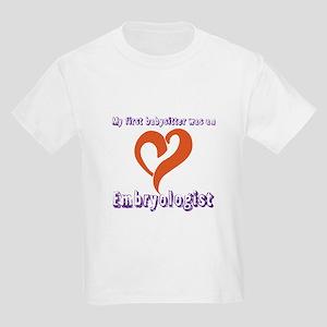 Embryologist Kids Light T-Shirt