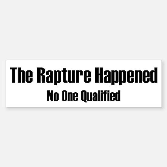 The Repture Happened Sticker (Bumper)