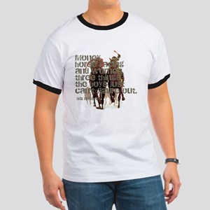 Will Rogers Horse Racing Quot Ringer T