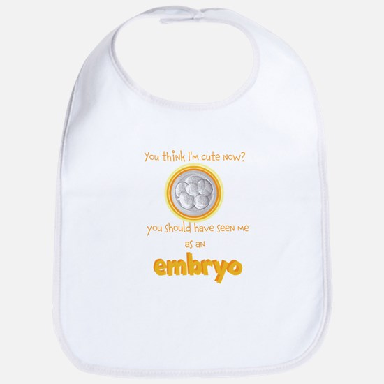 Cute IVF Embryo Bib