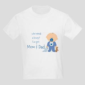 Who needs a lovey? Kids Light T-Shirt