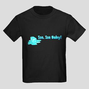 Ice Baby (FET) Kids Dark T-Shirt