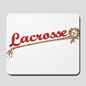Lacrosse Old School Mousepad