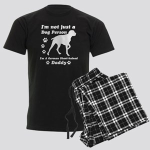 German shorthaired daddy Men's Dark Pajamas