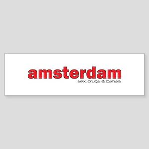 Amsterdam Sticker (Bumper)