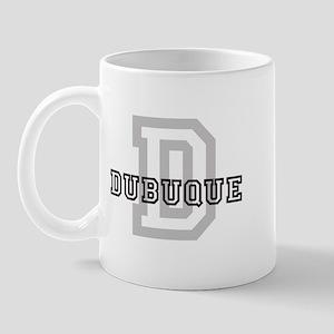 Letter D: Dubuque Mug