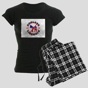 DEFEAT THEM Women's Dark Pajamas