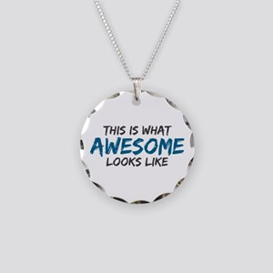 Awesome Looks Like Necklace Circle Charm