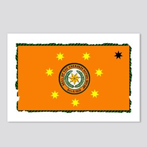 Cherokee Nation Flag Postcards (Package of 8)
