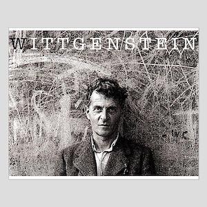 Wittgenstein Small Poster