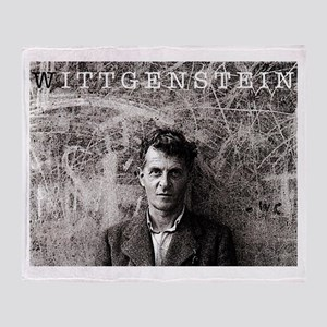 Wittgenstein Throw Blanket