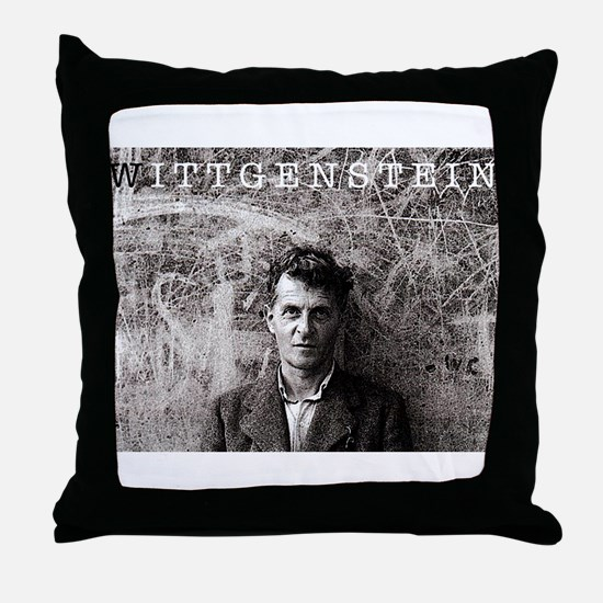 Wittgenstein Throw Pillow