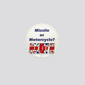 Missle or Motorcycle? Mini Button