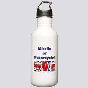 Missle or Motorcycle? Stainless Water Bottle 1.0L