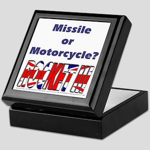 Missle or Motorcycle? Keepsake Box