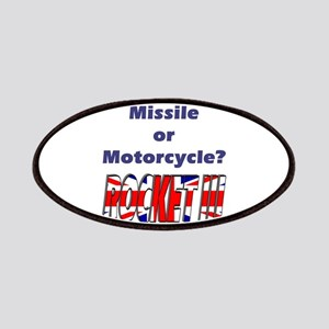 Missle or Motorcycle? Patches