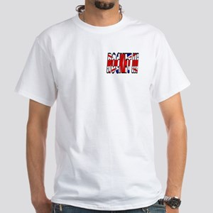 Missle or Motorcycle? White T-Shirt