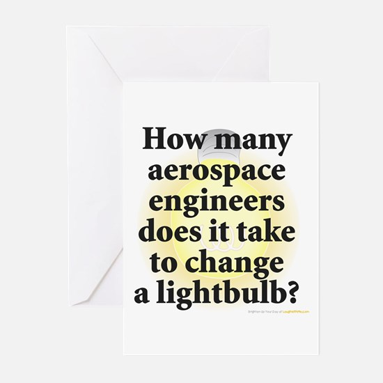 Aerospace Engineer Greeting Cards (Pk of 10)